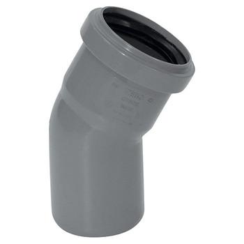 Отвод канализационный 50х30гр TEBO