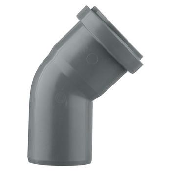 Отвод канализационный 50х45гр TEBO