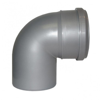 Отвод канализационный 110х87,5гр TEBO