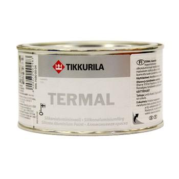 Краска силиконовая Tikkurila Termal (до+600°С) алюминий, 0,33л