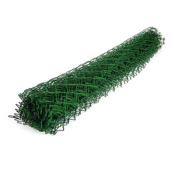Сетка Рабица зеленая 50х50мм d=2,6мм, (1,5х10м) с ПВХ покрытием