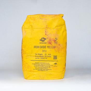 Пигмент железоокисный желтый, 25кг