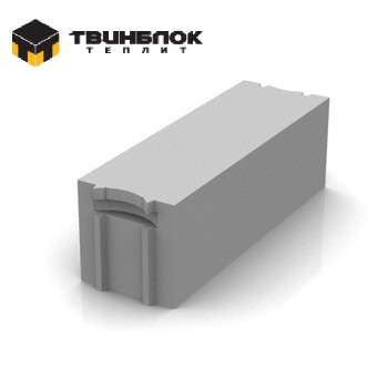 Блок газобетонный Твинблок D500 625х250х240 мм