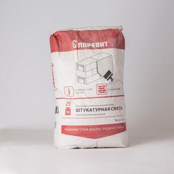 Кладочная смесь для газобетонных блоков Поревит, 25 кг