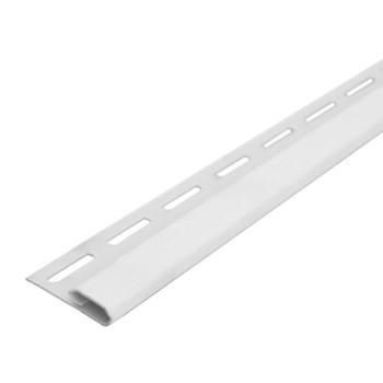 Планка финишная (белый) 3,8 м Файн Бир