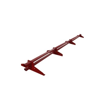 Снегозадержатель трубчатый 3000мм (ПЭ-3005) красный