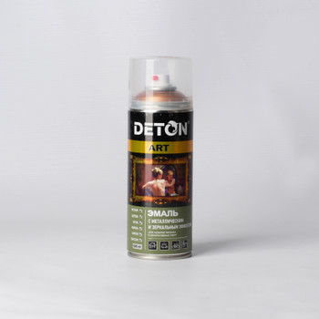 Эмаль аэрозольная DETON ART акриловая медный металлик, 0,52л