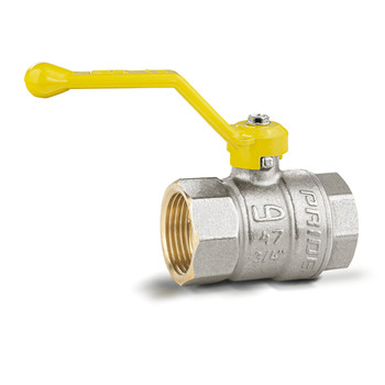 Кран шаровый газ ВР Ду 20 (ручка/бабочка) 11Б27п