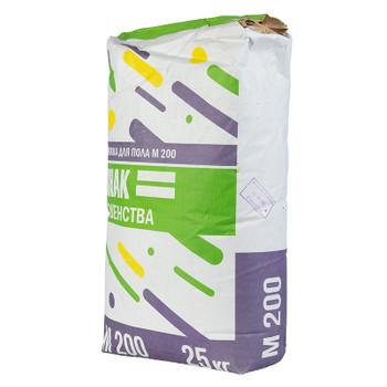 Стяжка для пола Знак Равенства М200, 25 кг