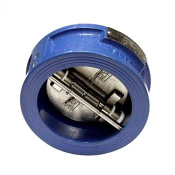 Клапан обр. межфланцевый 2-створчатый Ду 150 Ру 16 Tecofi