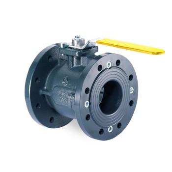 (82) Кран шаровый фланцевый газовый IVR DN 100