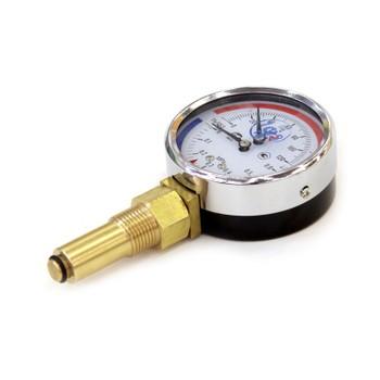"Термоманометр радиальный 0-120°С, D=80ММ, LП/Ч=46ММ, 6 БАР, G1/2"", ТМТБ- 31Р1, РОСМА"