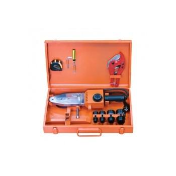 ПП Комплект сварочного оборудования FORAweld 1500Вт оранжевый кейс (насадки 20-40)