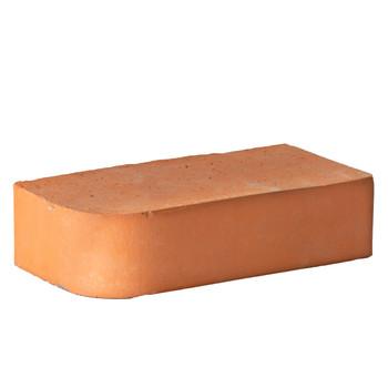Кирпич облицовочный полнотелый одинарный М-300, Красный радиусный, КС-Керамик
