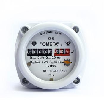Счетчик газа РЛ ОМЕГА G6 ротационный (до 10м3/час) ЯПЗ 1к=8шт