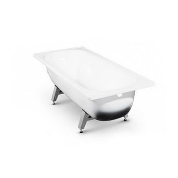 Ванна стальная Antika с ножками белая 150х70х40 см
