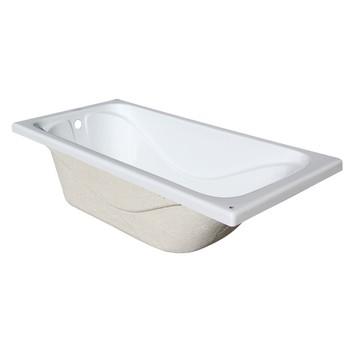 Ванна акриловая Стандарт 1500х700х560мм (б/экрана, б/ножек) Triton