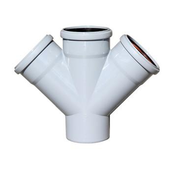 Крестовина канализационная 110х110х110х45гр