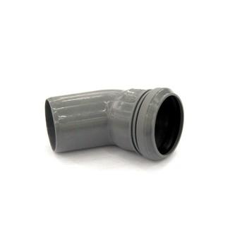 Отвод канализационный 50х45гр