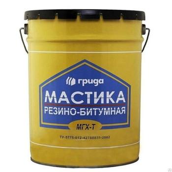 Мастика битумная ГРИДА МГХ-Т, 21кг