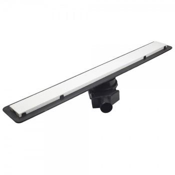 Душевой лоток Pestan Confluo Frameless Line 55 см (13701212) белое стекло