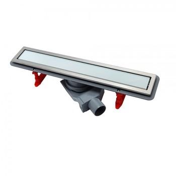 Душевой лоток Pestan Confluo Premium Line 45 см (13000281) белое стекло