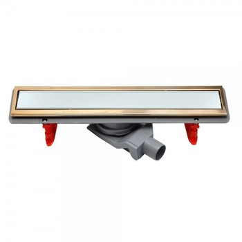 Душевой лоток Pestan Confluo Premium Line 85 см (13100093) белое стекло