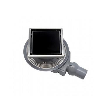 Трап для душа Pestan Confluo Standard 4 150х150 мм (13000092) черное стекло