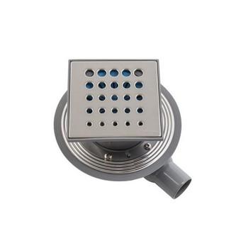 Трап для душа Pestan Confluo Standard Drops 1 150х150 мм (13000009) стальная решетка