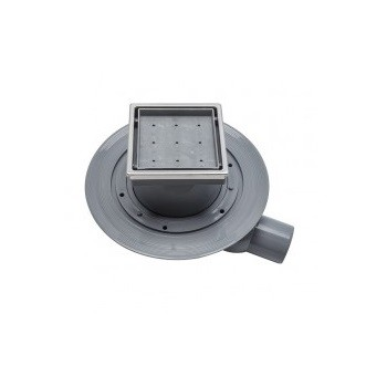 Трап для душа Pestan Confluo Standard Dry 1 Ceramic 100х100 мм (13000107) под плитку