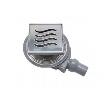 Трап для душа Pestan Confluo Standard Tide 4 150х150 мм (13000004) стальная решетка