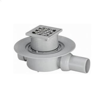 Трап для душа Viega Advantix 100х100 мм (583217) сухой затвор пластиковая решетка