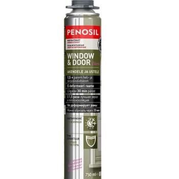 Пена монтажная Penosil Window & Door Elastic Foam профессиональная всесезонная 750 мл