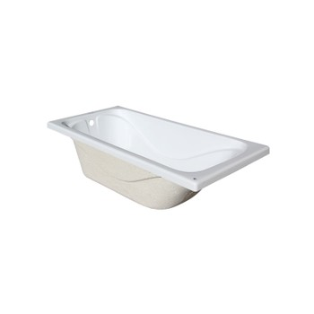 Ванна акриловая Стандарт 1400х700х560мм (б/экрана, б/ножек) Triton