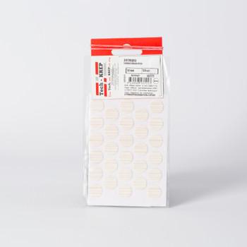 Заглушка самоклейка 14 мм крем (50 шт) - пакет