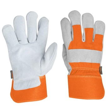 Перчатки Truper рабочие, кожа, комфортная подкладка 15249