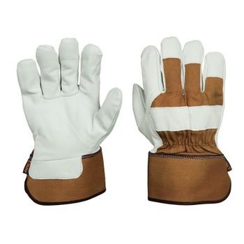 Перчатки Truper рабочие, подкладка 10% хлопок, резинка для дополнительной регулировки GUX-BOTE 14290
