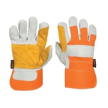 Перчатки Truper рабочие, усиленные наладонях, подкладка из полиэстера 14246