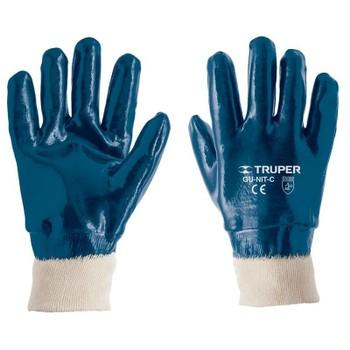 Перчатки Truper рабочие, хлопок, покрытие из нитрила 15244