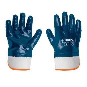 Перчатки Truper рабочие, хлопок, покрытие из нитрила 15245