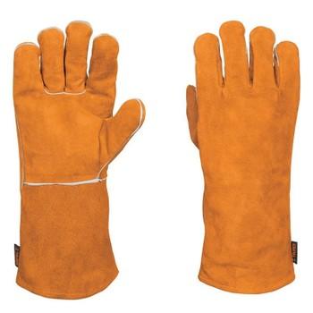 Перчатки Truper сварщика, длинные манжеты, комфортная подкладка GU-SOL 15246