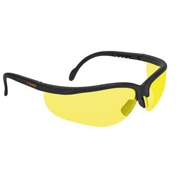 Очки защитные Truper спортивные желтые, поликарбонат LEDE-SА 14304