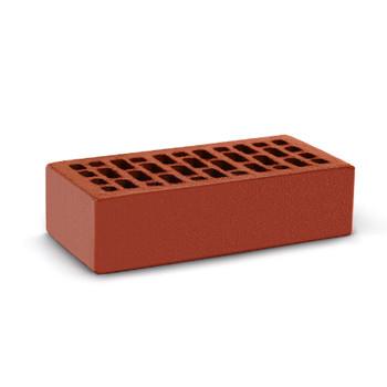 Кирпич облицовочный одинарный пустотелый М-150, Красный, КС-Керамик