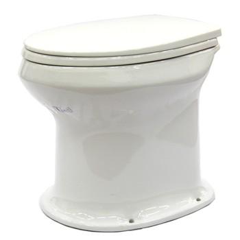Унитаз Дачный белый б/сидения Оскольская керамика