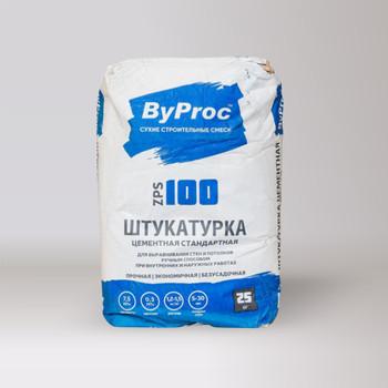 Штукатурка цементная стандартная ByProc, 25 кг