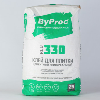 Клей цементный ByProc, 25 кг