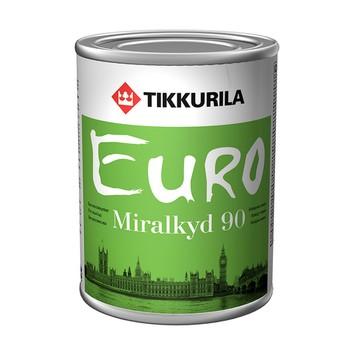 Эмаль Тиккурила Миралкид 90 алкидная гл./база С/, 9л