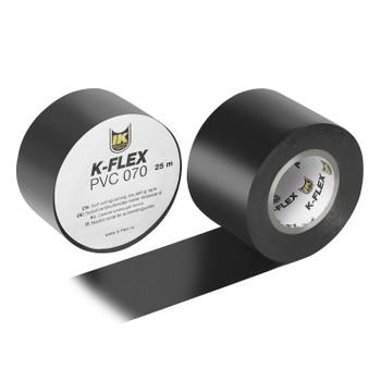 Лента ПВХ Черная 38мм*25м K-Flex PVC 070/АТ 070 (уп.24шт)