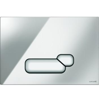Кнопка для инсталляции ACTIS, хром матовый
