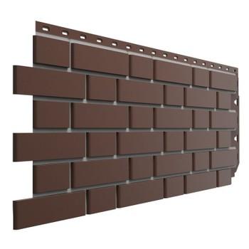 Панель фасадная Flemish коричневый 1095х420 мм (0,46м2) Дёке